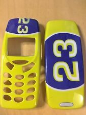 MOBILE PHONE FASCIA / HOUSING / COVER FOR NOKIA 3310 3330 - YELLOW 23 DESIGN
