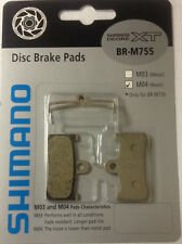 Shimano XT BR-M755 M04 Resin Disc Brake Pad Set