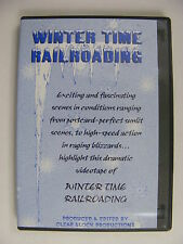 Winter Time Railroading DVD New England Vermont Conrail CSX Amtrak Norfolk