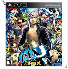 PS3 Persona 4 Arena Ultimax SONY PlayStation Atlus Fighting Games