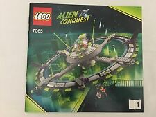 LEGO 7065 Alien Conquest Instruction Book  - MANUAL ONLY