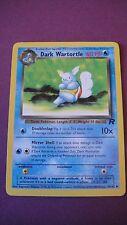 POKEMON CARD DARK WARTORTLE STAGE 1  46/82 L@@K ROCKET 60 HP