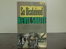 "Vintage Pan book #X478 ""So Distained"" by Nevil Shute"