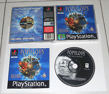 PS1 Playstation 1 POPULOUS THE BEGINNING PsOne  PAL PERFETTO