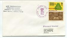 1971 Lick Observatory Station University California Mount Hamilton Space Cover