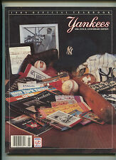 1989 Yankees Yearbook 40th Annual Anniversary Edition   MBX21