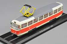 1/87 Atlas Tram Model T3 Nr.6102(Tatra)-1961 Diecast Truck Bus Car Model  toys
