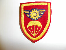 b0941 WWII OSS Chinese Commando hand embroidered patch CBI C19A7
