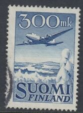 FINLAND :1950 300m Air stamp SG 488 fine used