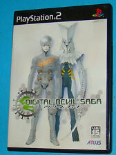 Digital Devil Saga - Avatar Tuner - Sony Playstation 2 PS2 Japan - JAP