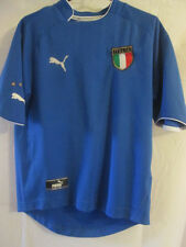 "Italie football domicile 2003-2004 chemise taille S 34 "" -35"" / 22352"