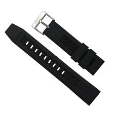 ArmourLite - Replacement Black Silicone Band IRB100 for Isobrite Watches (22mm)