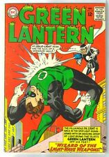 GREEN LANTERN #33 Wizard of the Light Wave Weapons! DC Comic Book ~ VG