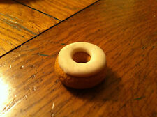 Vintage Eraser Fake Fast Food VANILLA Doughnut Donut Collectible Restaurant prop
