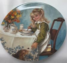 1986 Reco John McClelland Breakfast Plate Becky's Day Numbered Knowles