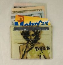 Credit Card Holder Genuine Leather Slim Wallet Talk Is Cheap Graphic Card Case