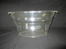 """Large, Thick, Plastic Serving Tub, Party Supply, 18 1/2"""" x 11 1/2"""" x 9"""""""