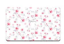 "Flower Painting Hard Rubbeized Case Floral Cover for Macbook Air Pro 13""15Retina"