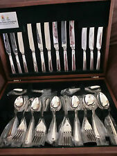 Arthur Price Grecian Sovereign Silver 44 Piece Cutlery Canteen Life Guarantee