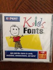 Expert Software CD Kids Fonts for PC, Mac