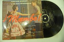 """XAVIER CUGAT""""MAMBO JAMBO-disco 45 giri EP(4 brani) PHILIPS It 1959"""""""