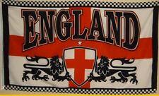 Fahne FLAGGE England mit Löwen  1,5 Meter x 0,9  Lions uk