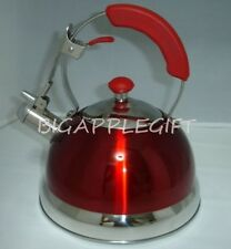 High Quality Stainless Steel Whistling TEA KETTLE COFFEE TEA MAKER  2.5Liter