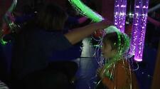 Fibre optic sensory harness lights 2 mm  Flexible (50x100cm) autism, children