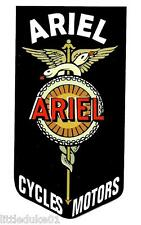 """ARIEL - CYCLES MOTORS"" BSA NORTON TRIUMPH MOTORCYCLE WORKSHOP STICKER DECAL"
