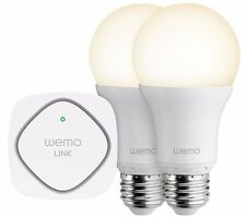 Belkin WeMo LED Smart Light Bulb Starter Kit - Screw Fit E27