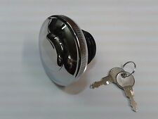 Triumph Legend Chrome Locking Fuel Filler Cap - NEW
