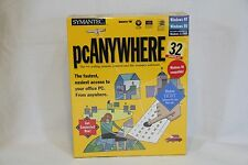 NEW boxed Symantec pcAnywhere 32 8.0 - Remote Control and File Transfer Software