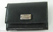 NEW IN BOX OROTON BLACK VENICE HIGH FOLD LEATHER WALLET CLUTCH PURSE RRP $225