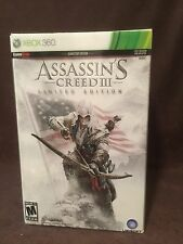 Ubisoft XBox 360 ASSASSIN'S CREED III 3 LIMITED EDITION Statue Flag Buckle Lot