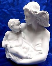 HOW SWEET YOU ARE - MOTHER AND BABY 2016 NAO BY LLADRO WATER DAMAGED BOX #1883-B