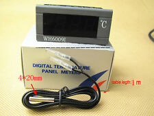 Digital Thermometer Temperature Meter Auto Car Gauge With Probe DC 12V