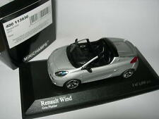 Minichamps 1:43 400 113930 RENAULT WIND 2010 Silver NEW