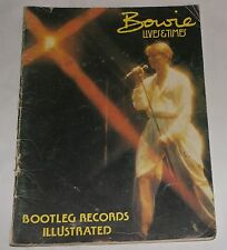 David Bowie Lives & Times Bootleg Records Illustrated