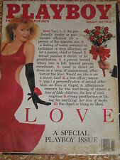 Playboy February 1989 Love a special Playboy issue near mint