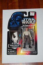 Han Solo Carbonite Block-Star Wars-Power of the Force-Orange Card-MOC