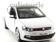 Bburago VW Volkswagen Polo GTi 1:24 Diecast Model Car White
