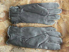 MKII gen 2 S95 BLACK LEATHER SHOOTING SNIPER COMBAT ASSAULT GLOVES 11 xl new