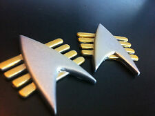 Star Trek TNG Future Imperfect Communicator Badge Prop/Replica