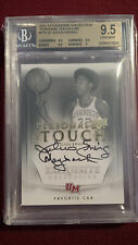 Julius Erving 2011 Exquisite Collection Personal Touch Auto JSY #6/30 BGS 9.5/10