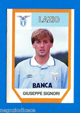 CALCIO FLASH '94 Lampo - Figurina-Sticker n. 142 - SIGNORI - LAZIO -New