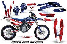 AMR Racing Husaberg FS/FE 450-670 Number Plate Graphic Kit Bike Decal 09-12 USA