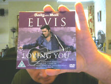 LOVING YOU DVD WITH ELVIS PRESLEY GREAT XMAS GIFT! FREE UK POSTAGE!