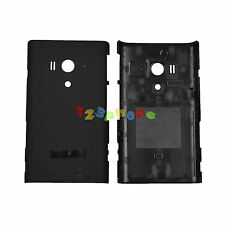 REAR BACK DOOR HOUSING BATTERY COVER FOR SONY XPERIA ACRO S LT26W #BLACK