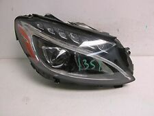 2015 2016 2017 MERCEDES BENZ C300 C350 C400 C CLASS HEADLIGHT LED RIGHT OEM 1351