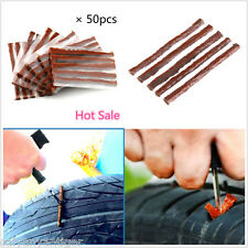 Bulk 50pcs Tubeless Tire Tyre Puncture Repair Kit Strips Plug Car Van Truck Bike